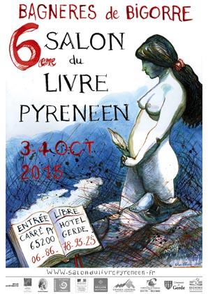 Visuel du Salon du Livre Pyrénéen 2015