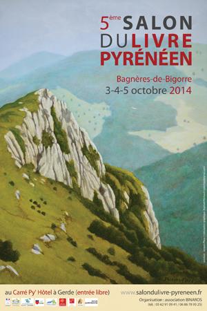 Visuel du Salon du Livre Pyrénéen 2014