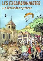 Couverture Les excursionnistes ou à l'école des Pyrénées